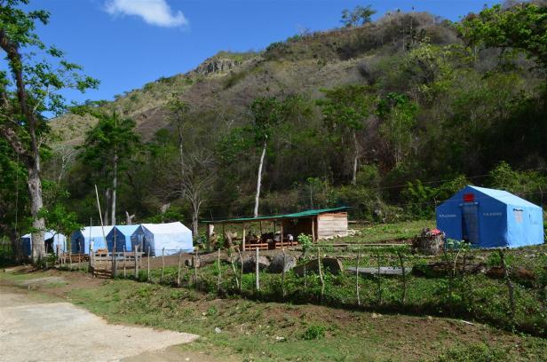 Campamento Fraternidad. Foto Edgar Brielo Maranillo.